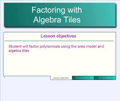 algebra tiles factoring smart exchange usa factoring with algebra tiles