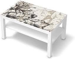 creatisto möbelfolie passend für ikea lack tisch 90x55 cm i möbeldeko möbel folie sticker i wohn deko ideen für wohnzimmer schlafzimmer