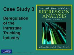 100 Trucking Deregulation Case Study 3 Of The Intrastate