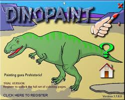 DinoPaint Coloring Book Download For Free