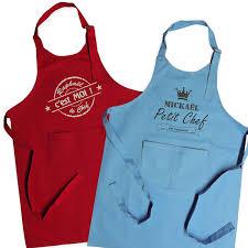 tablier cuisine pour enfant joli cadeau idée cadeau naissance tablier label personnalisé
