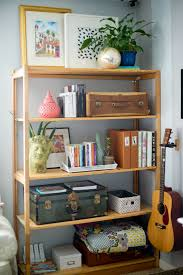 Contemporary Decorate Shelves In Living Room Architecture View Larger