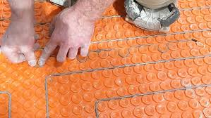 Easy Heat Warm Tiles Thermostat Problems by Ditra Heat Heated Flooring Systems Home Repair Tutor