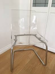 Acrylic Office Chair Uk by White Acrylic Desk Chair Clear Plastic Desk Chair Tobias Chair