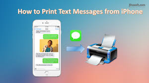 Top 3 Ways to Print Text Messages from iPhone 6S 6 5S 5 4S 4