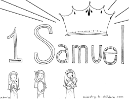 Samuel Coloring Pages For Bible