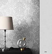 newroom barocktapete tapete grau ornament barock vliestapete weiß vlies moderne design optik barocktapete wohnzimmer inkl tapezier ratgeber