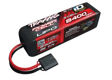 Traxxas Lipo Battery - 8400mah, 11.1V, 3cell, 25c