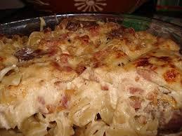 gratin de pâtes aux lardons et au chorizo paperblog