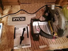Ryobi 7 Wet Tile Saw Blade by Ryobi 7 1 4 Miter Saw With Laser Model Ts1143l What U0027s It Worth