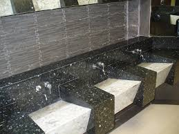 black and white granite from great american tile and construction
