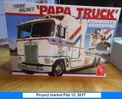 "Kenworth AMT 1/25th ""Papa Truck"" Race Truck Hauler – IPMS Model Talk"