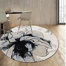 de kooco abstrakter teppich für wohnzimmer