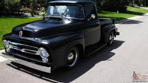 56 Ford F100 Satin Black | 1956 Ford F100 | FORD F100 | Pinterest ... 1956 Ford F100 Hot Rod Network Pickup Original V8 Runs And Drives Great Second Generation Low Gvwr Wraparound 1954 1953 1952 1957 Chevy Trucks For Sale Chevy Cameo Custom Sold Hotrods By Titan Youtube Truck Clem 101 Ringbrothers Farm Superstar Kindigit Designs 54 Street Trucks 12clt01o1956fordf100front Ebay Video Sept 2012 Home Mid Fifty Parts Dinnerhill Speedshop Color Codes