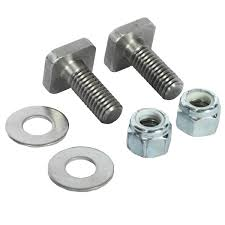 100 Truck Bed Bolts 1 Square Head Stainless Steel Bolt Kit Set Of 2