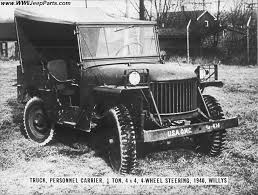 Original 1/4 Ton 4x4 Prototype Jeep Photos - FORD GP, BANTAM BRC-40 ...