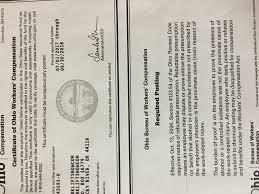 bureau workers comp workers comp certificate forkliftsnow com