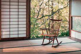 Chairs — George Nakashima Woodworkers Sculptural Swedish Grace Mohair Rocking Chair Mid Century Swivel Rocker Lounge In Pendleton Wool Us 1290 Comfortable Relax Wood Adult Armchair Living Room Fniture Modern Bentwood Recliner Glider Chairin Chaise Bonvivo Easy Ii Padded Floor With Adjustable Backrest Semifoldable Folding For Meditation Stadium Bleachers Reading Plastic Contemporary The Crew Classic Video Available Pretty Club Chairs Chesterfield Rooms Pacifica Coastal Gray With Cushions Kingsley Bate Sag Harbor Chic Home Daphene Black Gaming Ergonomic Lounge Chair
