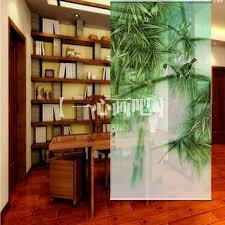 Get Quotations 100 Cm200 Cm Modern Rustic Style Bamboo Print Decoration Room Roller Shade Hang Screens