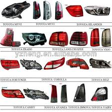 Vland Auto Car Accessories For 2011 Sonata Tail Lamp Led Rear Back
