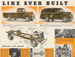 1946 Mercury Trucks Brochure
