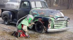 1953 GMC Rat Rod Truck Restoration #1 By Western Canada Soda And C02 ...