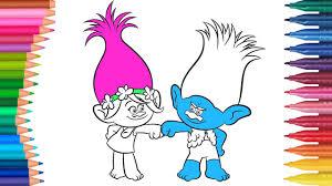 Dibujos Para Colorear Trolls Pelicula Globeooffercom