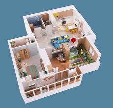 Tiny Tower Floors Pictures by 2 Gorgeous Single Story Homes With 80 Square Meter Floor Space