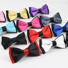 popular two tone bow tie buy cheap two tone bow tie lots from