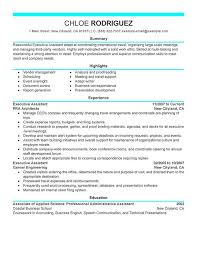 Assistant Manager Resume Sample From Samples Summary Executive For Finance Cv