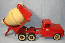 VINTAGE TONKA CEMENT MIXER #620 PRESSED STEEL CONSTRUCTION TRUCK ...