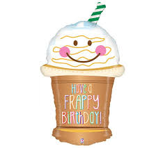 Best Images Frappy Balloon Free Large Beef Coffee Clipart Happy Birthday