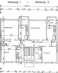 grundriss einer 2 zimmer küche bad wohnung