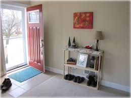 Living Room Front Door Entryway