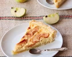 dessert au pomme rapide tarte flan aux pommes alsacienne cuisine az