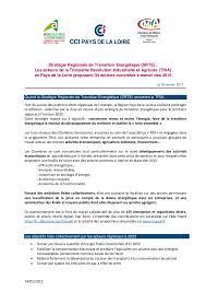 chambre agriculture 34 note position cci pdl 34 propositions d actions transition énergétiqu