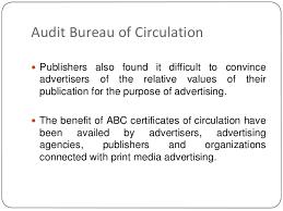 audit bureau of circulation magazine indian organisations hm