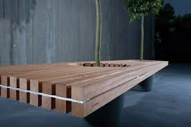 wood bench designs treenovation