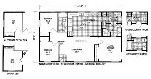 Triple Wide Modular Homes Floor Plans by Unique Mobile Homes Plans Double Wide Home Floor Kelsey Bass