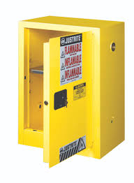 Flammable Liquid Storage Cabinet Grounding by Airgas Jtr891200 Justrite 12 Gallon Yellow Sure Grip Ex 18