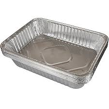 Sturdy Gauge Deep Lasagna Pan 12 Pack Disposable Aluminum Pans Ideal For Roasts