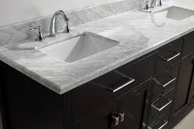 72 Inch Wide Double Sink Bathroom Vanity by Virtu Usa Md 2072 Wmsq Es Caroline 72 Inch Bathroom Vanity With