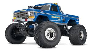 Traxxas 36034-1 Bigfoot Remote Control Monster Truck, Blue | EBay