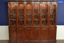 Breakfront Vs China Cabinet by Mahogany Traditional Cabinets U0026 Cupboards Ebay