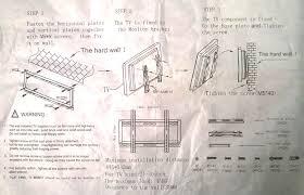 sony bravia lg samsung lcd led 3d tv wall bracket mount 24 28 32