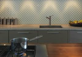 View Larger Image Patterned Glass Splashback Kitchen