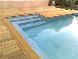 margelle piscine en bois installation de plages de piscine en bois à marseille patrice