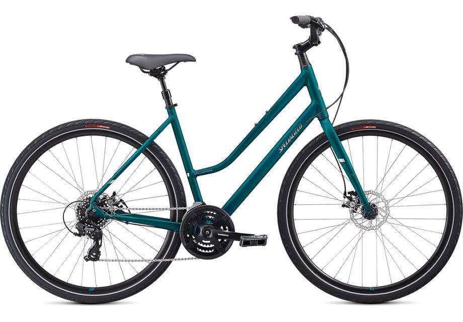 Specialized Crossroads 2.0 Step Through Marine Blue / Chrome / SM