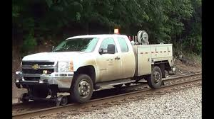 100 Railroad Truck Maintenance Of Way Patrolling 8 20 2013 YouTube