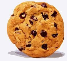 Cookie Jar vector art illustration Chocolate Chip Source